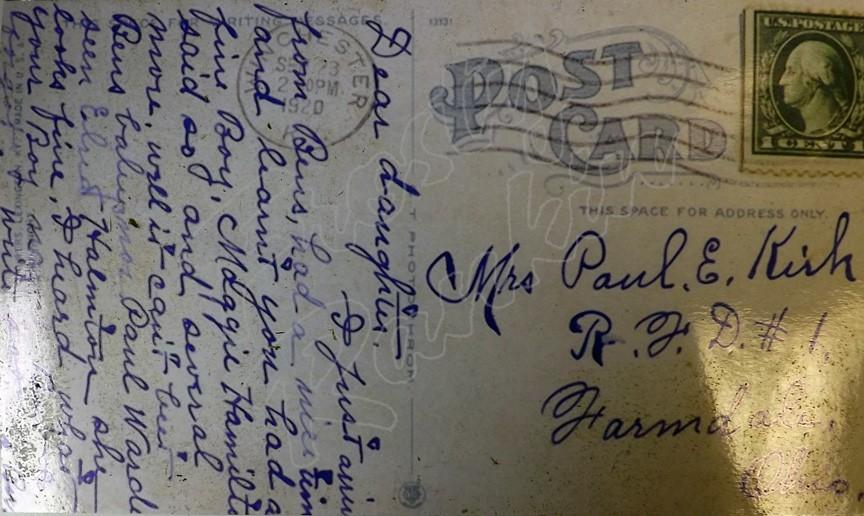 1910 back card