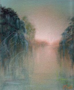 Bayou Sunset I