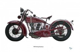 Dream Rider Set 1929 Harley