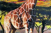 Jivin' Giraffe