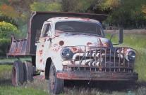 Old Chevy Dump Truck