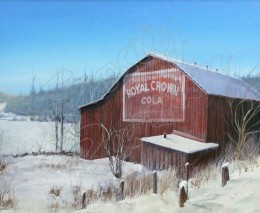RC Cola Holiday Barn