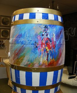 Secretariat Barrel 2010 Back