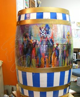 Secretariat Barrel 2010