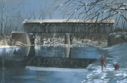 Skinner Covered Bridge (Winter)