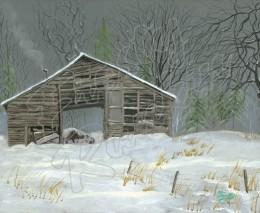 Winter Woodshed